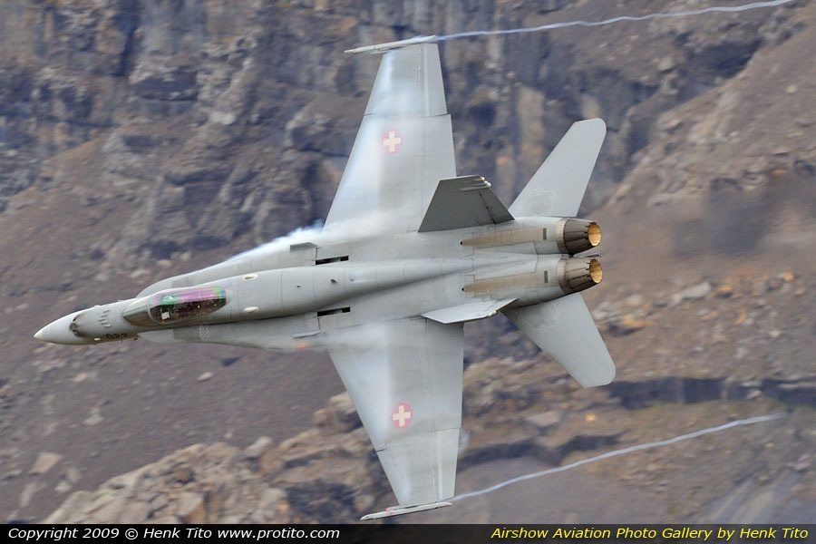 F/A-18C Hornet Swiss Air Force