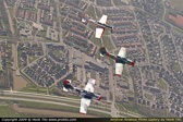 Yak 52 formation-training days air to air - Lelystad EHLE - the Netherlands 2009
