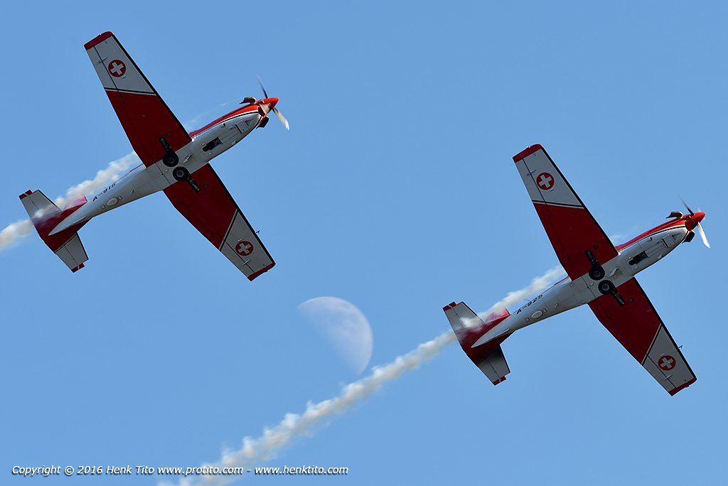 Pilatus PC-7 'PC-7 Team' Aerobatic Swiss Air Force