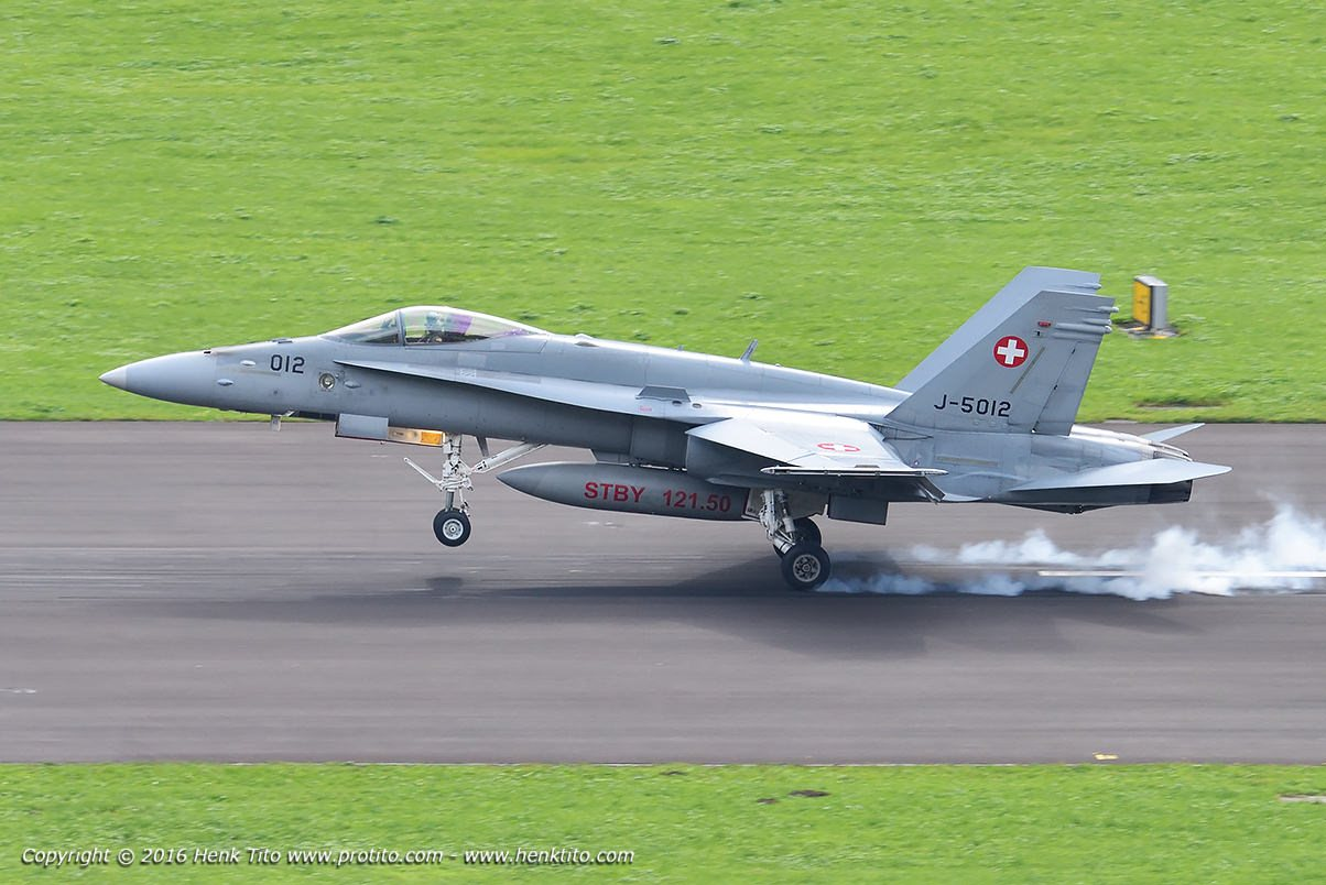 J-5012 F/A-18 Hornet Swiss Air Force