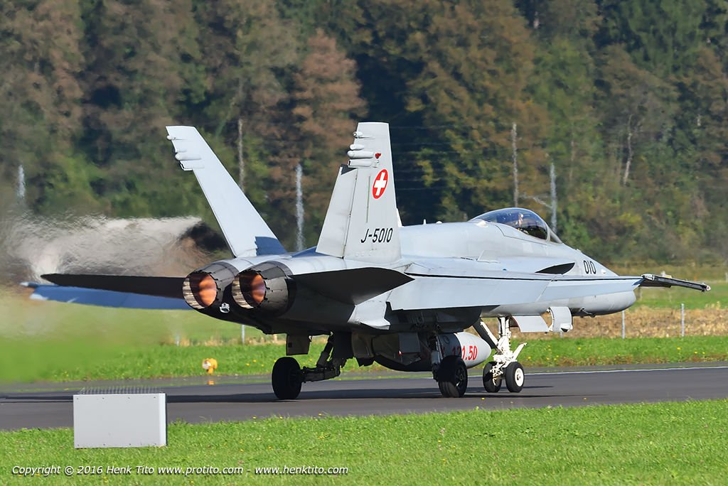 J-5010 F/A-18 Hornet Swiss Air Force