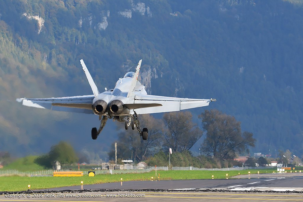 F/A-18 Hornet Swiss Air Force