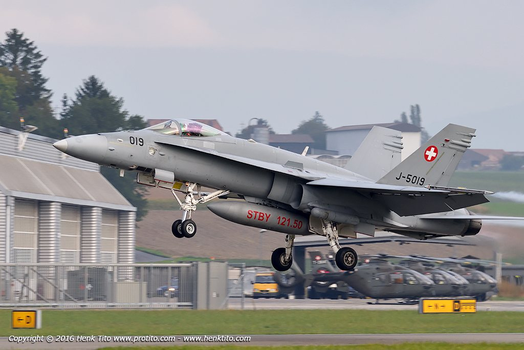 J-5019 F/A-18 Hornet Swiss Air Force