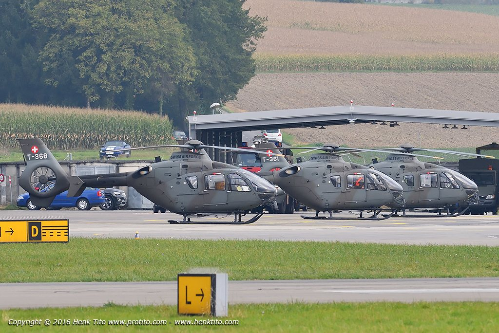 T-368, T-361, T-359 Eurocopter EC635 Swiss Air Force