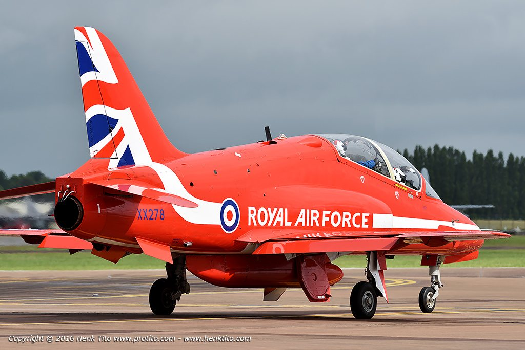 Hawk T.1 Red Arrows