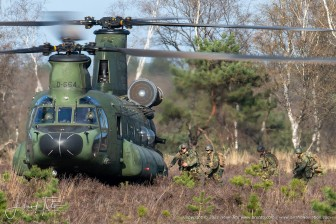 GLV-5 LowFly Area Oirschotse Heide 31th of March - the Netherlands 2021